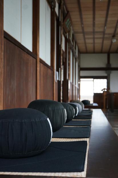 Photos: 坐禅の間