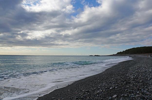 三保の海辺