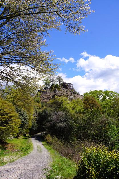 城に続く道