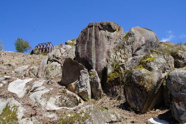 岩山の城跡