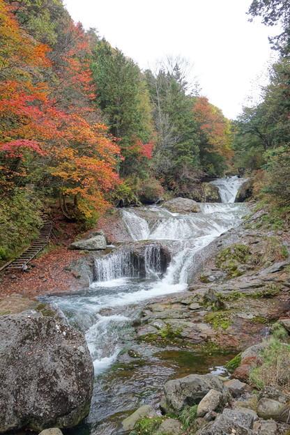 オシドリ隠しの滝