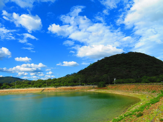 Photos: 夏空と俺の甲山