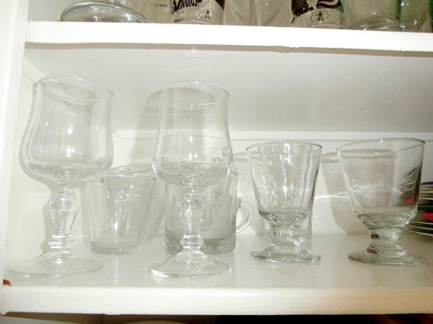 glass $1