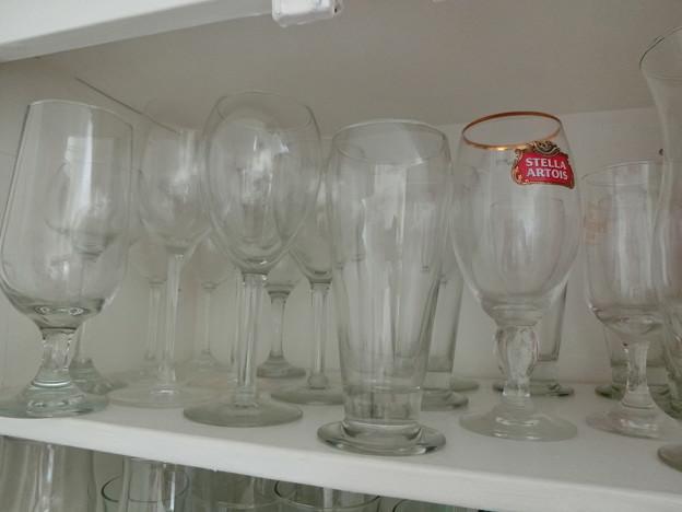 Photos: glass $1