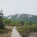 Photos: 残雪のシャクナゲ岳