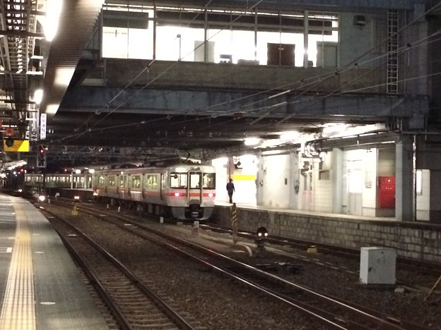 Photos: 富士駅の普通列車