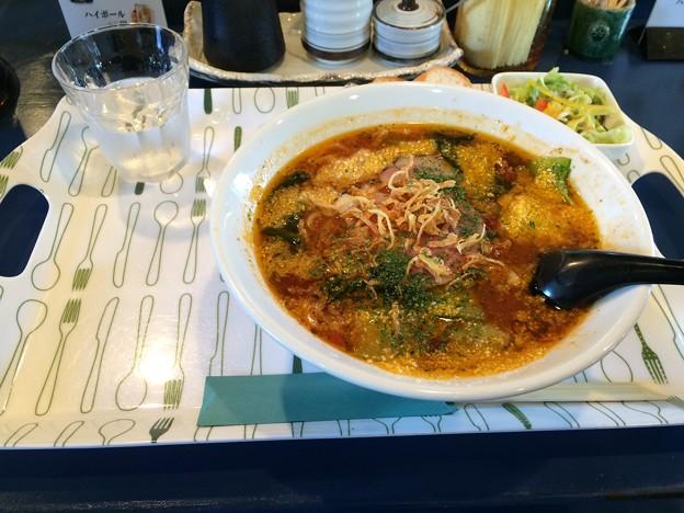 2日連続昼食拉麺
