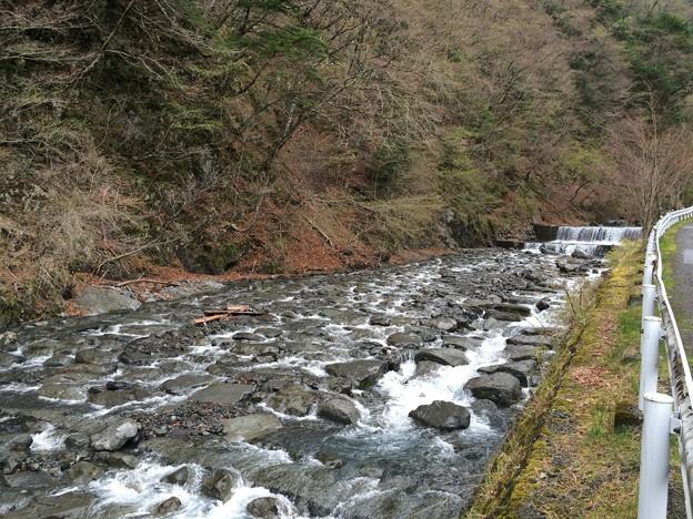 安倍川の流れ@梅ヶ島温泉