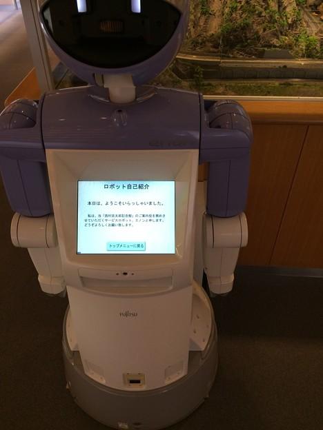 ロボットによる案内