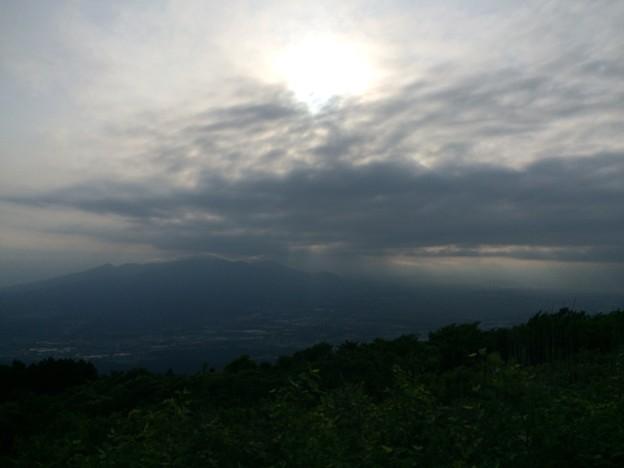 三国峠から眺めた空