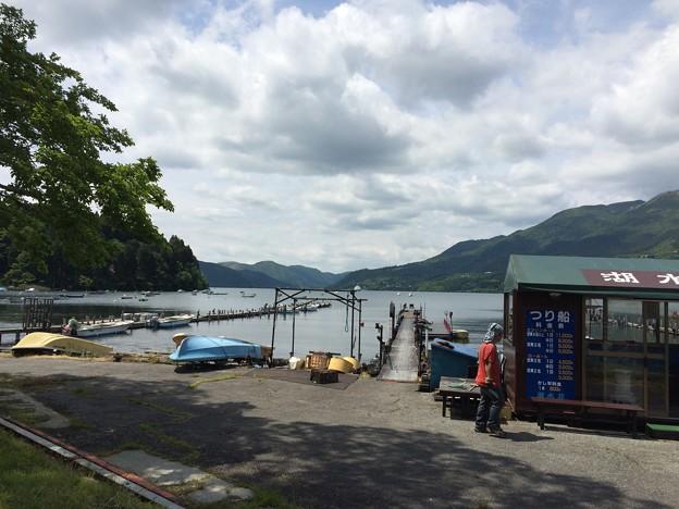 6月の芦ノ湖