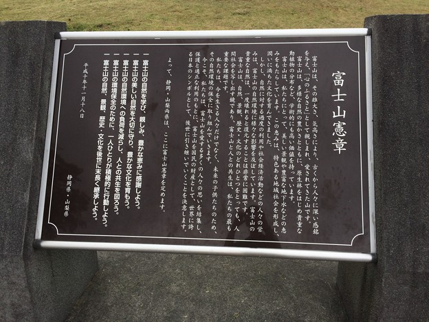 富士山憲章