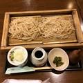 Photos: 山形駅前で夕食、そば。