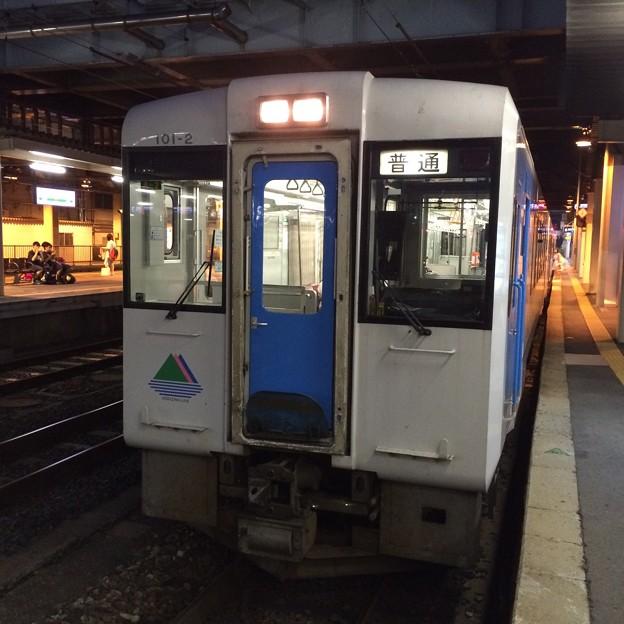 左沢行き普通列車