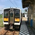 Photos: 坂町駅にて