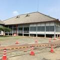 Photos: 改修中の施設