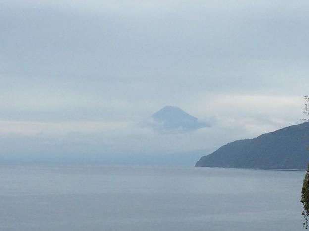 西伊豆から見えた富士山