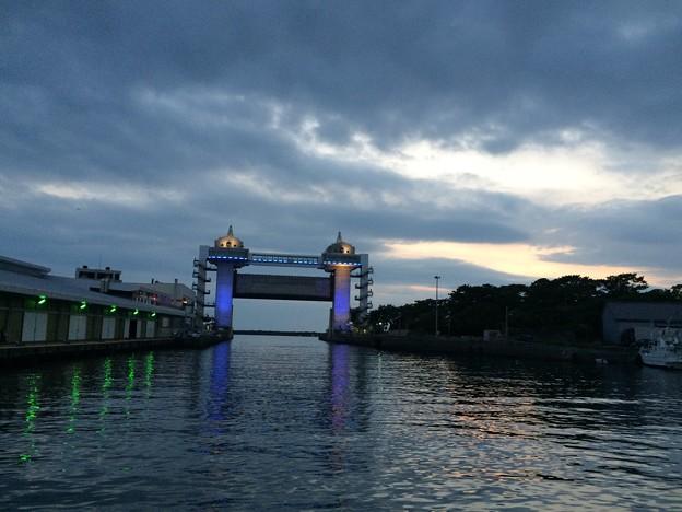 沼津びゅうお ライトアップ