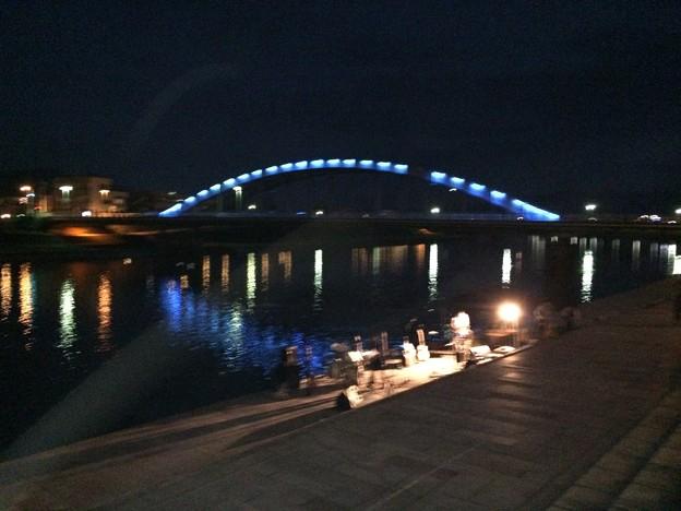 沼津御成橋 ライトアップ