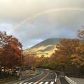 Photos: 紅葉と虹5
