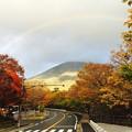 Photos: 紅葉と虹6