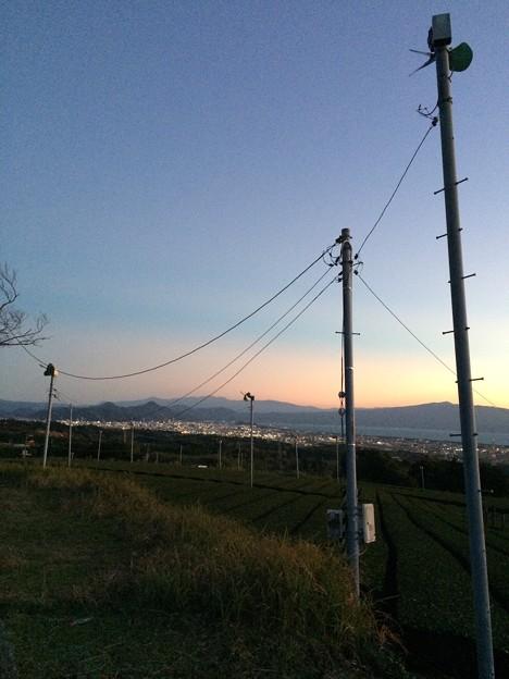 赤野観音堂からの夕景3