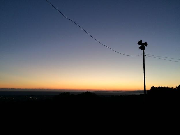 赤野観音堂からの夕景4