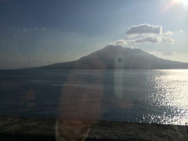 はやとの風から見た桜島2