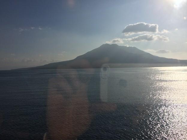 はやとの風から見た桜島3