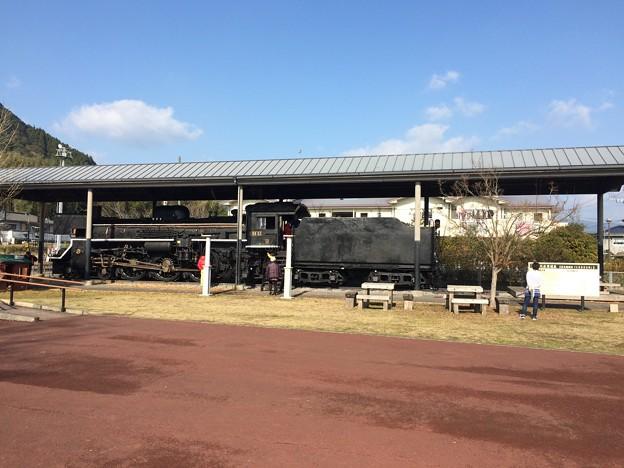 吉松駅前SL保存