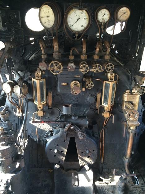 SL運転室