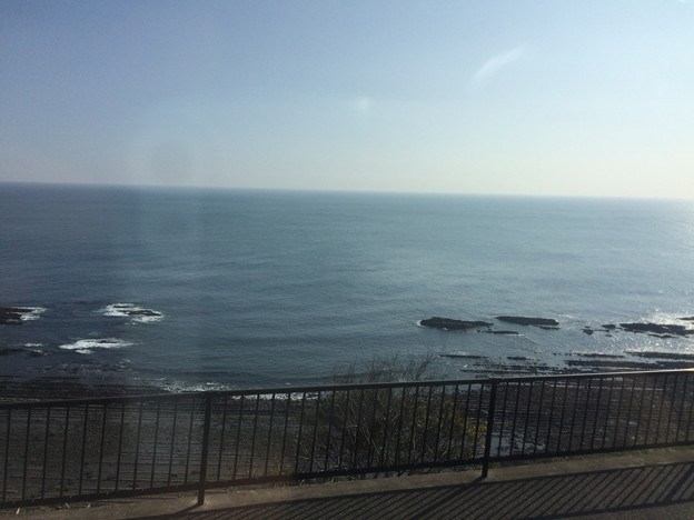 宮崎→日南の海岸線1