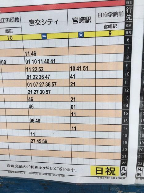 宮崎神宮 バス時刻表