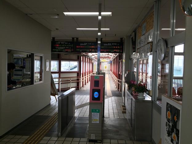 南宮崎駅 改札