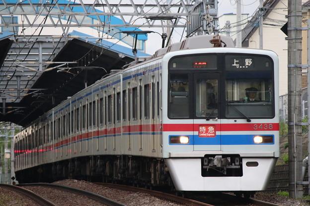 京成3400形 3438F
