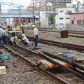 Photos: 京葉臨海鉄道 蘇我~千葉貨物間の脱線現場(復旧作業)