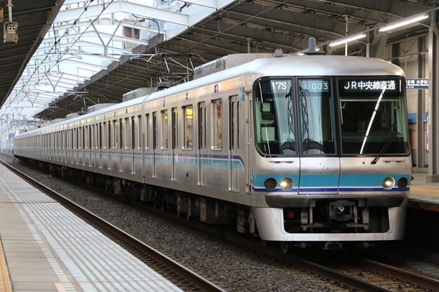 東西線07系 07-103F(B修車)