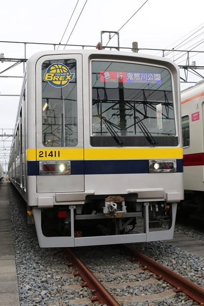 東武本線20400系 21411F