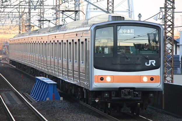 武蔵野線205系0番台 M65編成