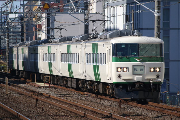 Photos: 185系200番台 B6編成 成田山初詣伊東号