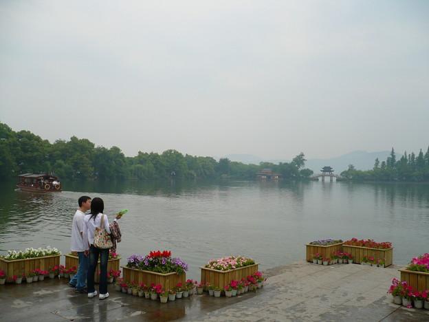 杭州西湖・曲院風荷