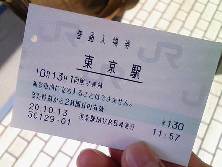 081013-東京駅入場券