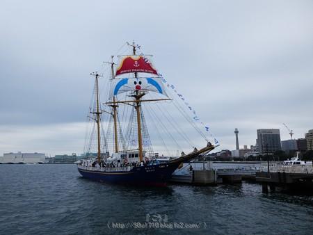 180225-帆船ドラえもん (2)