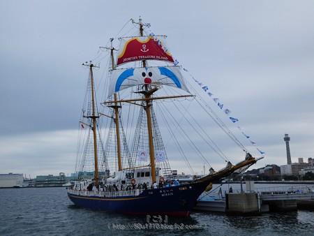 180225-帆船ドラえもん (3)