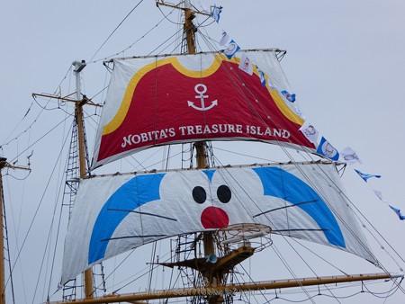 180225-帆船ドラえもん (4)