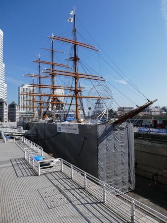 190224-帆船日本丸 1号ドック (12)