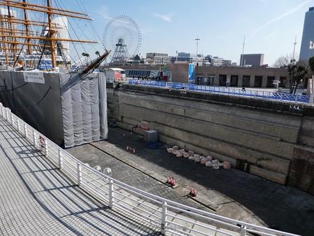 190224-帆船日本丸 1号ドック (16)