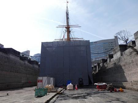 190224-帆船日本丸 1号ドック (116)