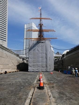 190224-帆船日本丸 1号ドック (84)