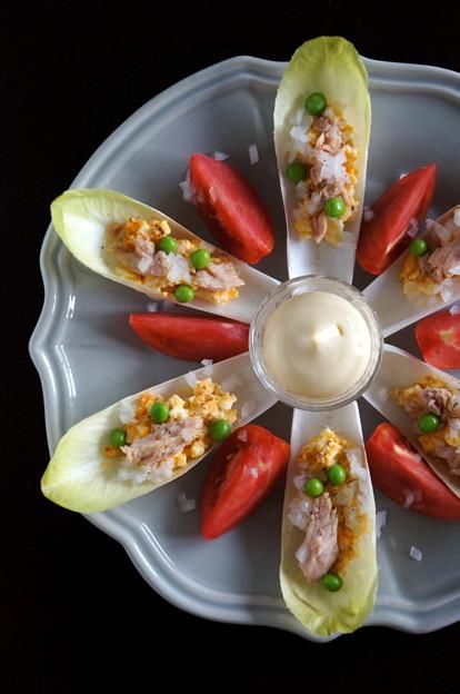 写真: おもてなしの前菜に♪簡単ごちそうサラダ